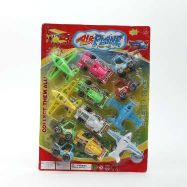 Air Plane Friction Toy Set