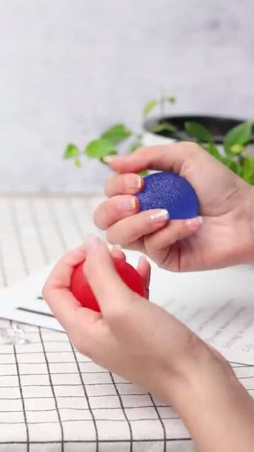 Stress Relief Balls for Hand Grip Strengthening