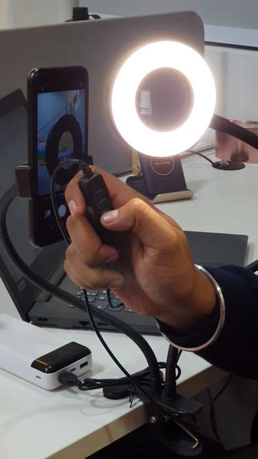 Selfie Ring Light With Mobile Stand