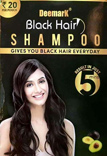 Deemark Black Hair Shampoo (400ml)