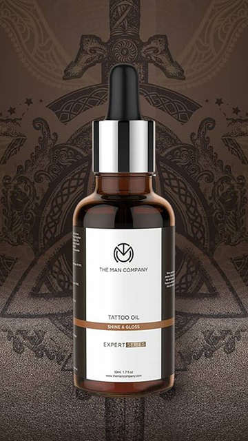 The Man Compay Tattoo Oil