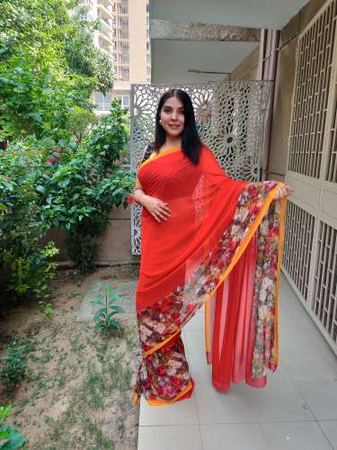 RM Border Printed Saree