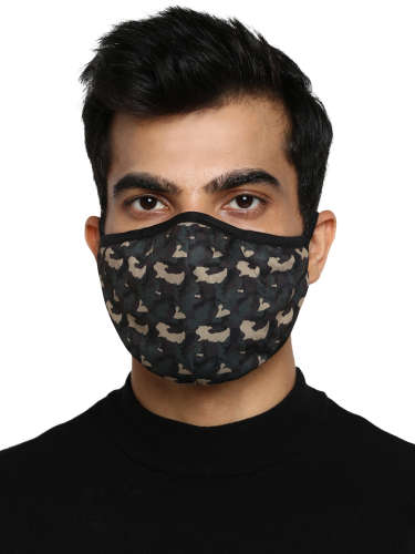 UCB (Pack of 3) Reusable 3 layer Adult Mask