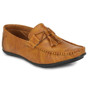 Bucik Men'S Synthetic Leather Loafers