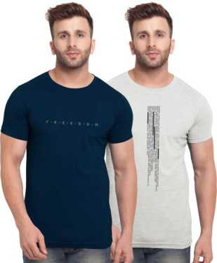 Pack of 2 Half Sleeve T-shirts by Bullmer