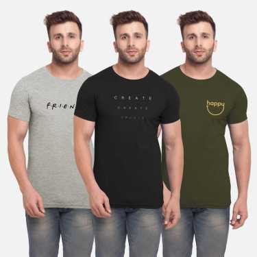 Pack of 3 T-shirts By Bullmer