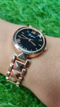 LVPAI Rose Gold Color Elegant Watch For Women
