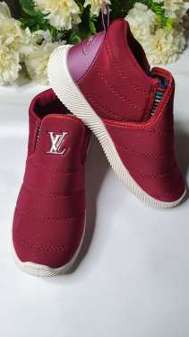 Svaar Maroon Super Soft Boot Style Casual Shoes for Women